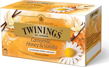 twinings tee kamille honig vanille camomile honey vanilla jetzt besonders g nstig. Black Bedroom Furniture Sets. Home Design Ideas