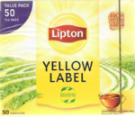 Lipton Yellow Label Schwarzer Tee 50er Pack